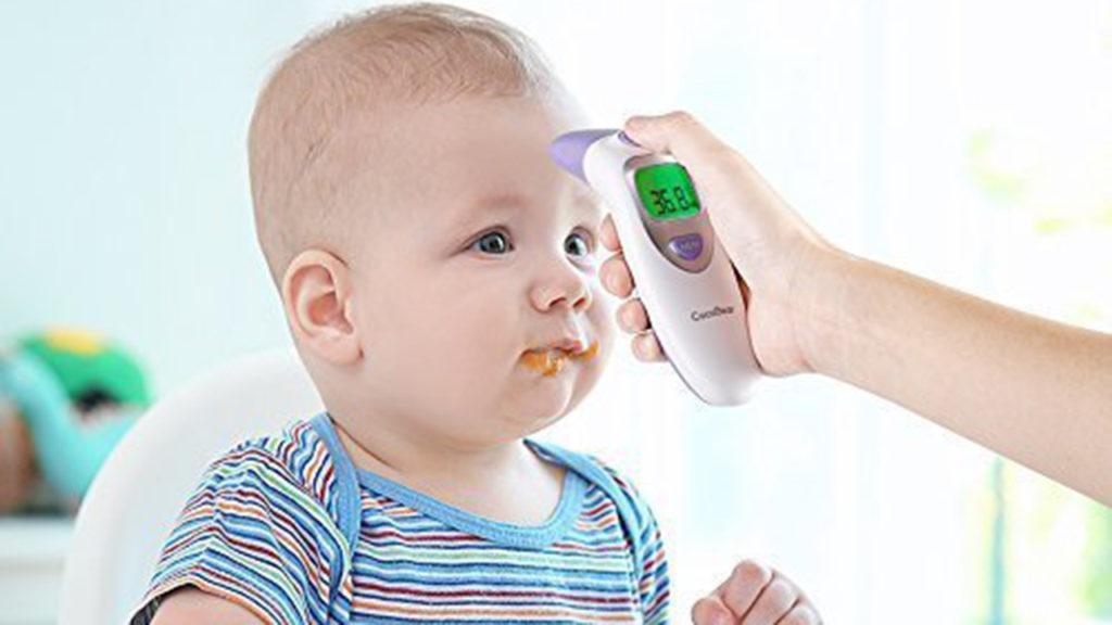 termómetro infrarrojo para bebe