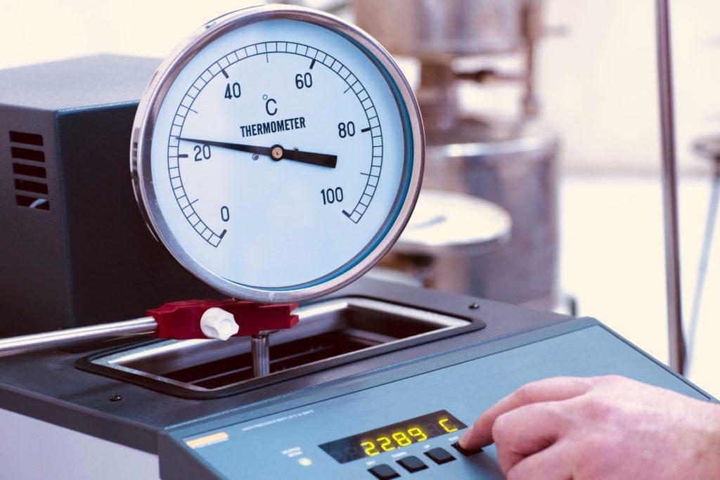 calibracion de termometros con acreditacion ante la ema